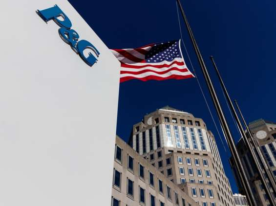 Procter & Gamble ostro w górę