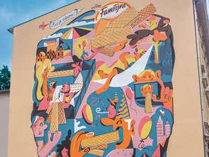 Wafle Familijne mają swój mural