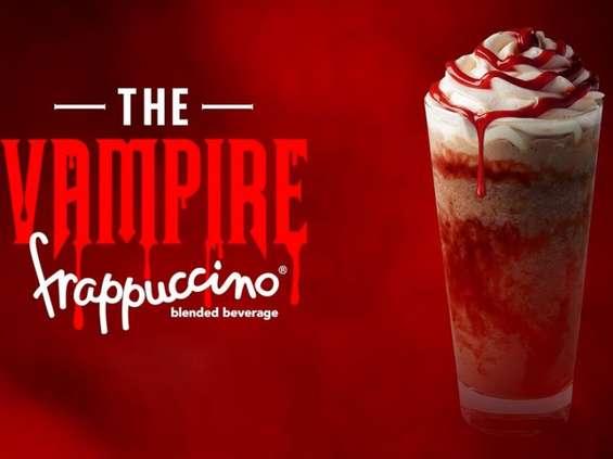 Halloween w Starbucksie