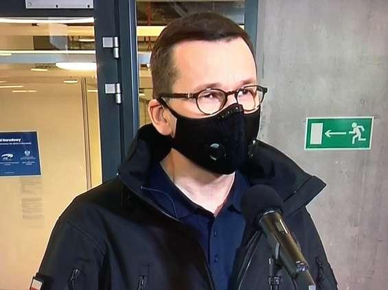 Morawiecki: bronimy się przed lockdownem. Dziś szczegóły