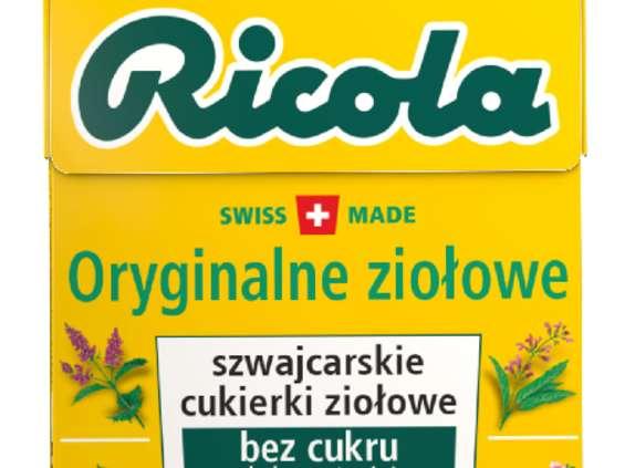 Perfetti Van Melle Polska. Ricola Orginalne Ziołowe