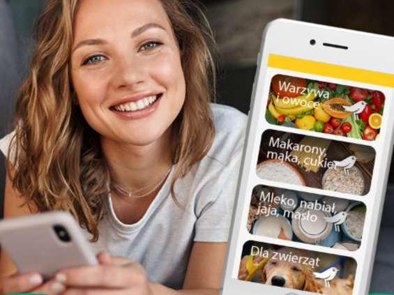 Auchan z Glovo: wzrost zamówień poprzez aplikację