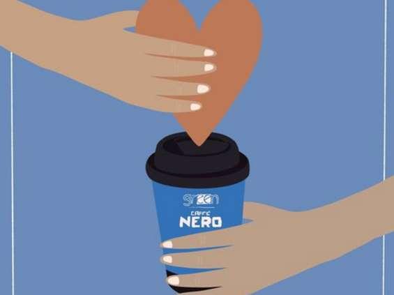 Green Caffè Nero napoi medyków
