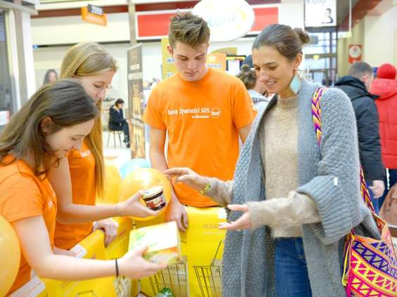 Kamis włącza się w Świąteczną Zbiórkę Żywności