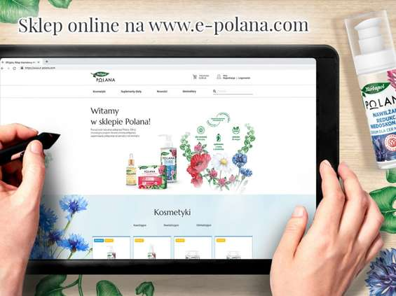 Marka Polana wchodzi do Internetu