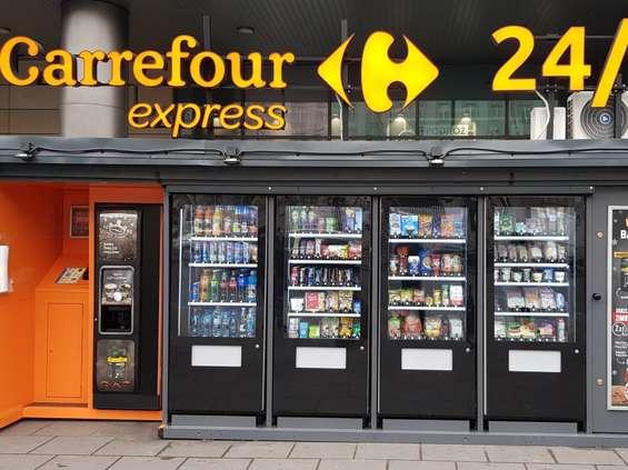 Drugi samoobsługowy Carrefour już działa