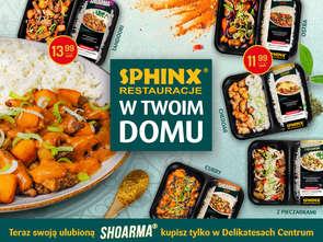 Danie z restauracji sieci Sphinx trafi do 1500 sklepów!