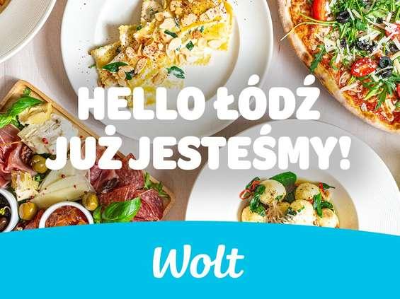 Wolt już dowozi w Łodzi