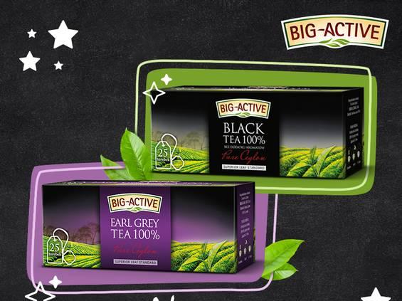 Herbapol-Lublin wspiera czarne herbaty Big-Active