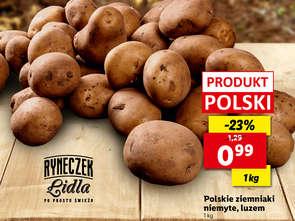 Lidl: po krzywych burakach czas na ziemniaki
