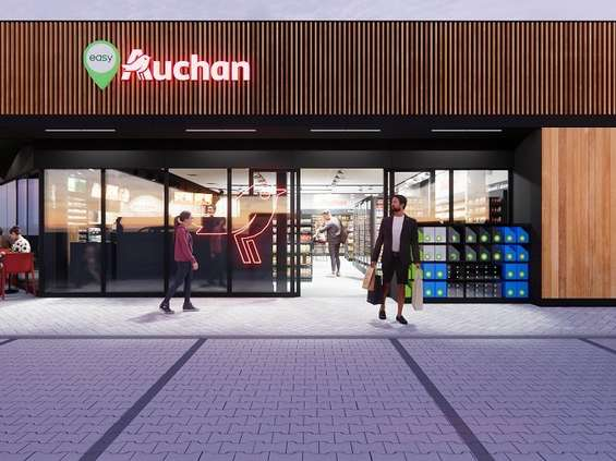Koncept Easy Auchan nabiera tempa