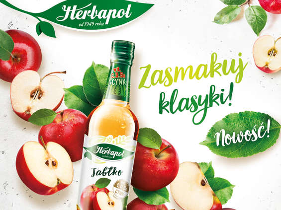 Herbapol-Lublin. Syrop Herbapol Jabłko