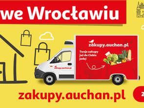Auchan dowiezie e-zakupy mieszkańcom Wrocławia