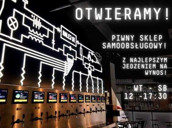 Ruszył pierwszy samoobsługowy sklep piwny w Krakowie