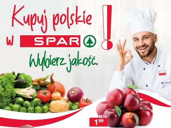 Spar stawia na polskość