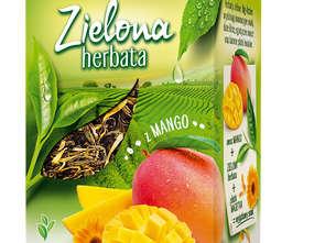 Herbapol-Lublin. Liściasta herbata zielona Big-Active