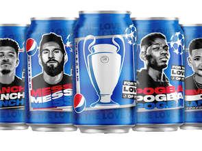 Pepsi z kampanią z gwiazdami światowego futbolu