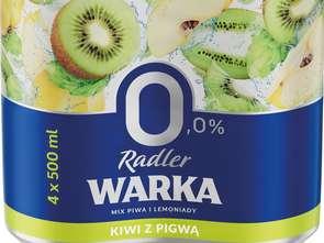 Nowe warianty Warki Radler 0,0%