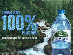 Żywiec Zdrój celebruje zbiórkę 100% plastiku