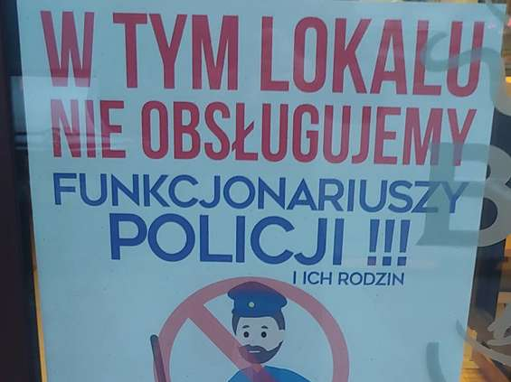 Byczy Burger: policjantów nie obsługujemy