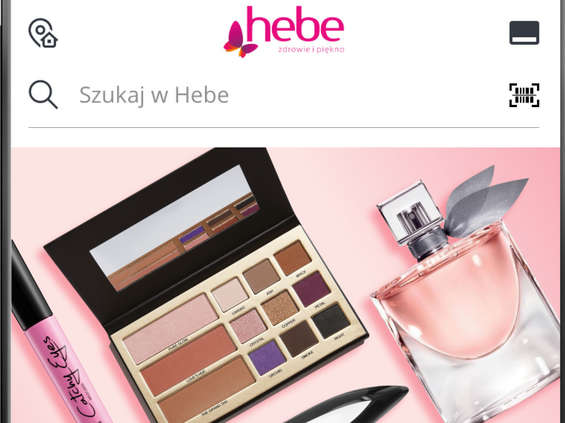 Aplikacja Hebe doceniona