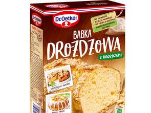 Dr. Oetker. Babka drożdżowa i Babka czekoladowa