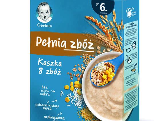 """Nestlé Nutrition. Kaszki """"Pełnia zbóż"""" Gerber"""
