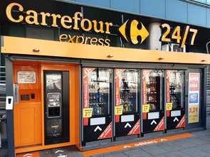 Carrefour inwestuje w sklepy samoobsługowe, czynne 24 h