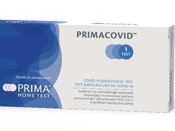 Test Primacovid nie wykazał przeciwciał, a test laboratoryjny - tak