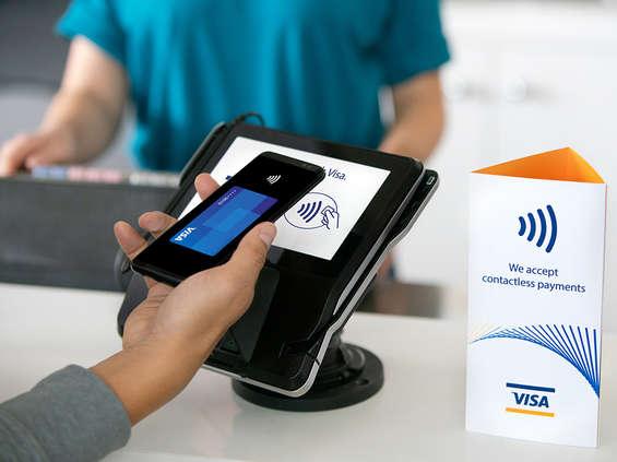 Visa przetworzyła kolejny miliard płatności bezdotykowych