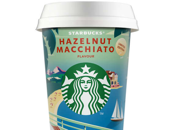 Arla Foods. Starbucks® Hazelnut Macchiato