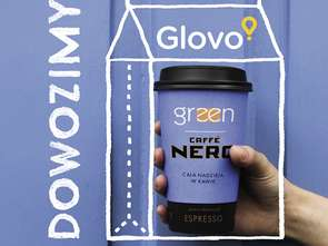 Green Caffè Nero rusza z Glovo
