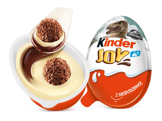 Ferrero Polska Commercial. Kinder Joy i dinozaury z Jurassic World
