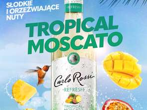 Nowe Carlo Rossi Refresh Tropical Moscato