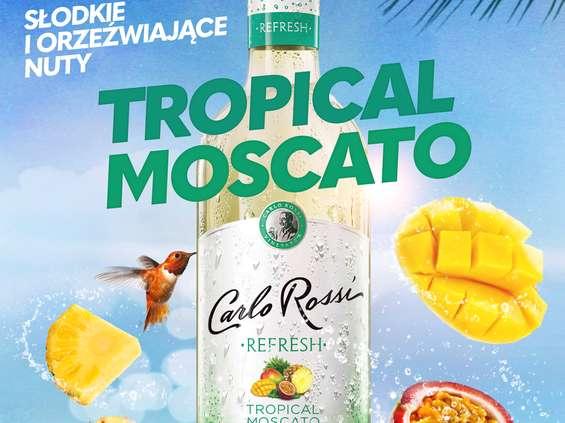 Nowe Carlo Rossi Refresh Tropical Moscato