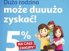 Auchan rozszerza ofertę dla rodzin wielodzietnych