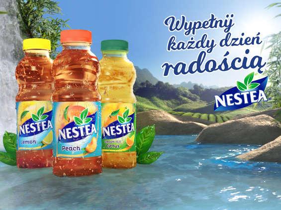 Wypełnij każdy dzień radością z Nestea!