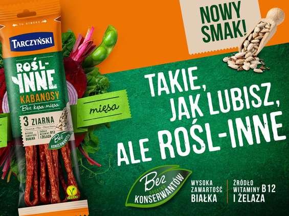 Tarczyński. Kabanosy 3 ziarna