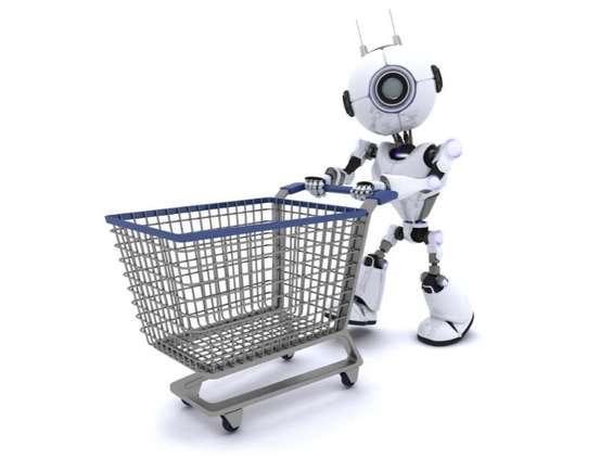 Roboty zdobywają handel