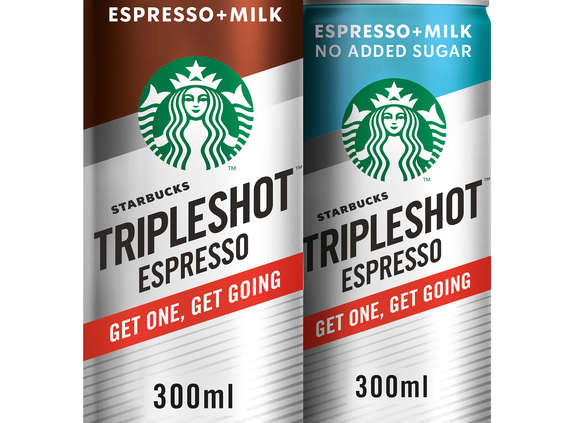 Arla Foods. Starbucks Tripleshot™ Espresso
