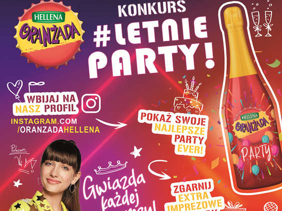 #Letnie Party! z Oranżadą Hellena Party