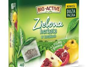 Herbapol-Lublin. Herbata zielona Pigwa & Granat od Big-Active