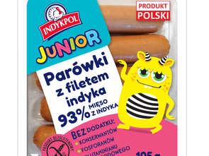 Indykpol. Parówki Junior