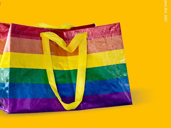 IKEA wprowadza kolorowe torby na zakupy