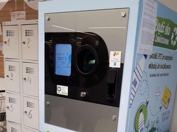 Lewiatan testuje urządzenia do recyklingu butelek