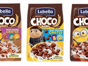 Minionki w płatkach Lubella