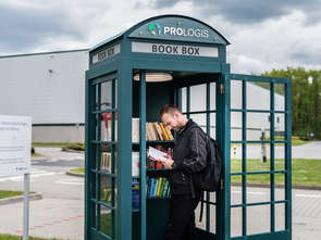 Prologis stawia minibiblioteki