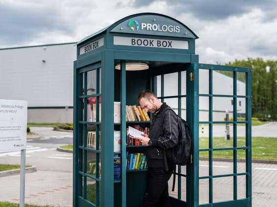 Prologis stawia mini biblioteki