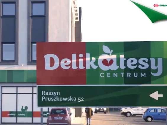 Delikatesy Centrum: nowe logo i kolorystyka [ZDJĘCIA]