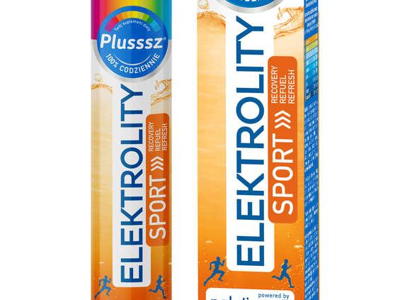 Polski Lek. Plusssz Elektrolity Sport 100% Complex